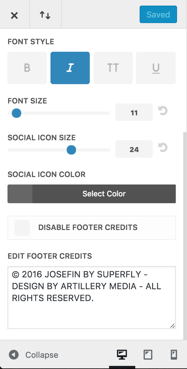 How do I edit the footer widgets? – BeSuperfly