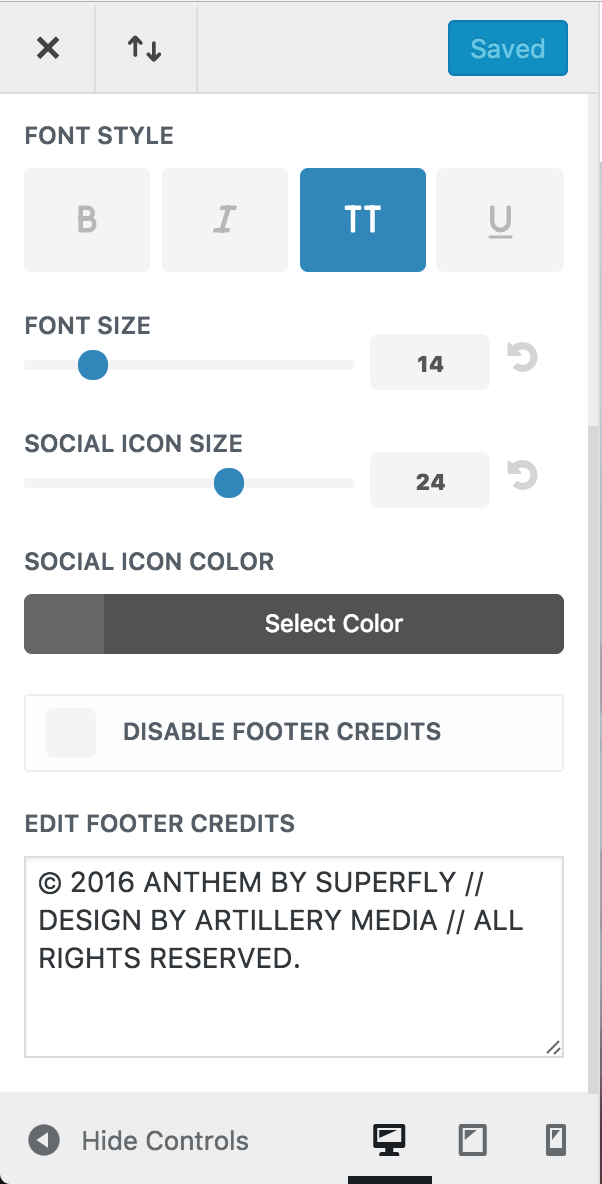 How do I edit the footer sections? – BeSuperfly
